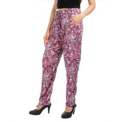 Kaapo Regular Fit Ladies Rayon Pants, Waist Size: upto 36