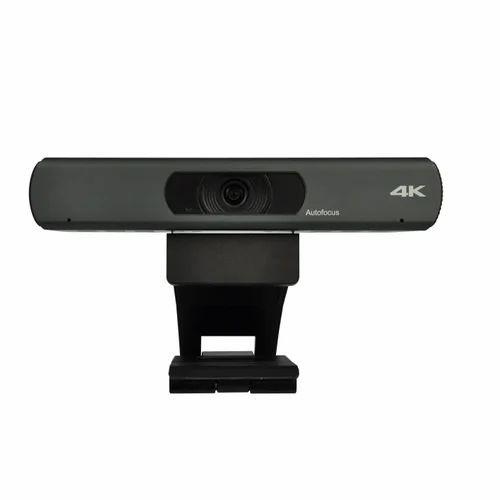 Plesco 4K USB WebCam With Built-in Array Mic, Logitech Web camera