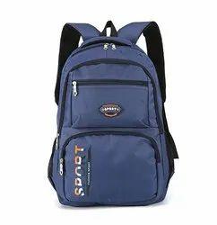 Nylon Laptop Backpack College School Bag