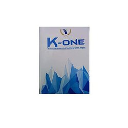Plain K One Hi Performance A4 Multipurpose 65 GSM Paper, Packaging Type: Packet, 500 Sheet