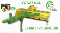 YOGASA 3L Laser Land Leveler for Farming