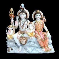 Marble Gorishankar Statue