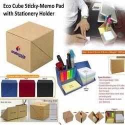 Eco Friendly Memo Cube