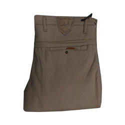 Hook Cotton Casual Trouser