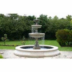Three Tier Garden Water Fountain