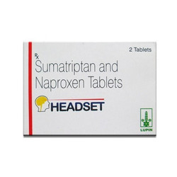 Sumatriptan And Naproxen Tablet