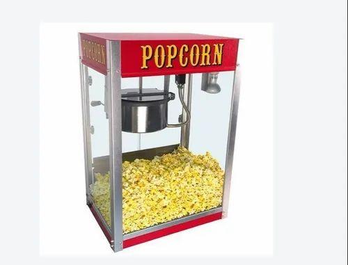 Electric Semi Automatic Pop Corn Machine Rs 11000 Unit Druvish Kitchen Appliances Id 22023404355