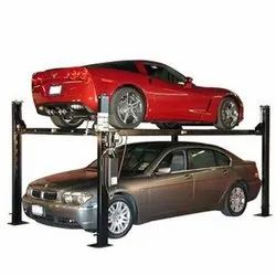 Four Post Car Parking Lift System