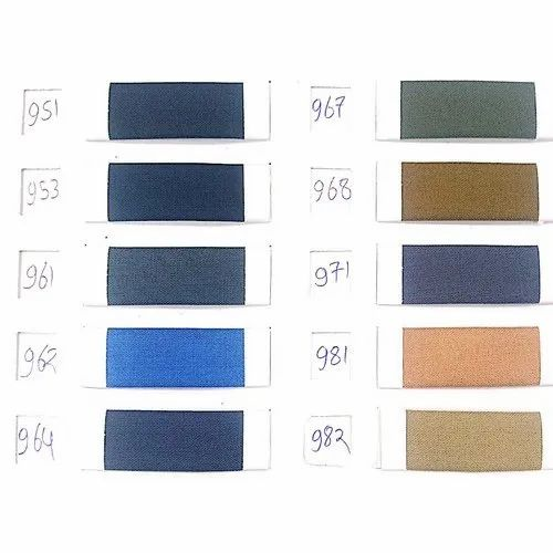 Cotton Plain Suiting Fabric, Packaging Type: Thaan