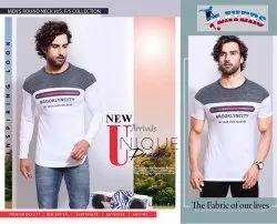 Printed Mens Round Neck Full Sleeves T Shirt