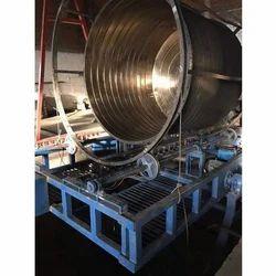 Open Fire Rotomoulding Machine