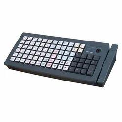 Ivory White Or Black KB6600 (USB) Programmable Keyboard By Posiflex