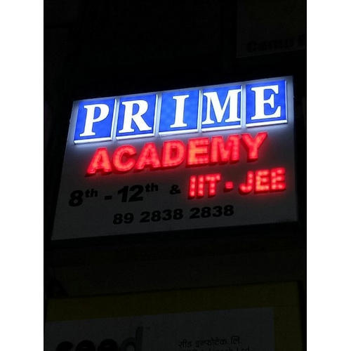 Cool White And Red 3D LED Sign Board, Rs 170 /running feet ...