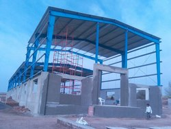 Steel Frame Structures Concrete Ware House Constructions Services, For Warehouse, Waterproofing System