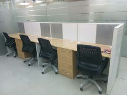 4 X 2 Feet 3 - 4.5 Feet Modular Office Furniture, 50 Mm