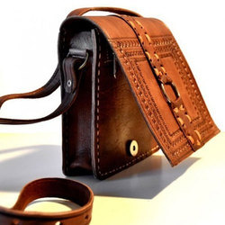 Brown The Shoeppee Handcrafted Leather Bags