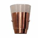 Designer Copper Finish Wall Lamp