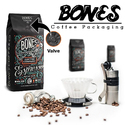 Bones Coffee Packaging