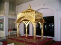 Gold Leafing on Palkhi