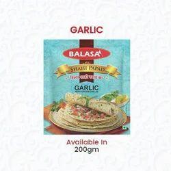 Fresh Garlic Papad