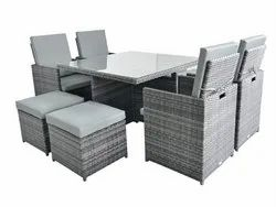 Square Garden Furniture Space Saver
