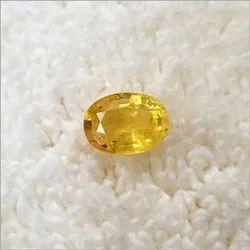 Natural Yellow Pukhraj Sapphire