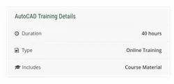 Auto CAD Training Course