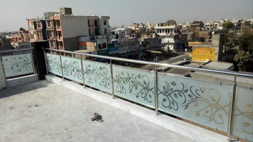 Overall Stairs Stainless Steel Balcony Railing Design Material Grade 304 Rs 009 Feet Id 20781643548