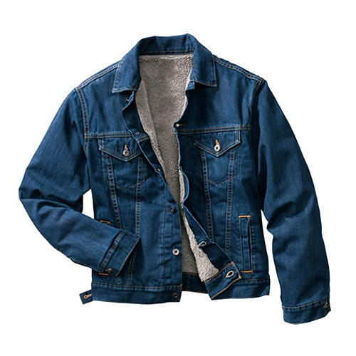 3754e60adac Full Sleeve Slim Fit Mens Denim Jacket