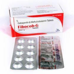 Fibocob-G 300 mg Gabapentin & Methylcobalamin Tablets, Packaging Type: Box