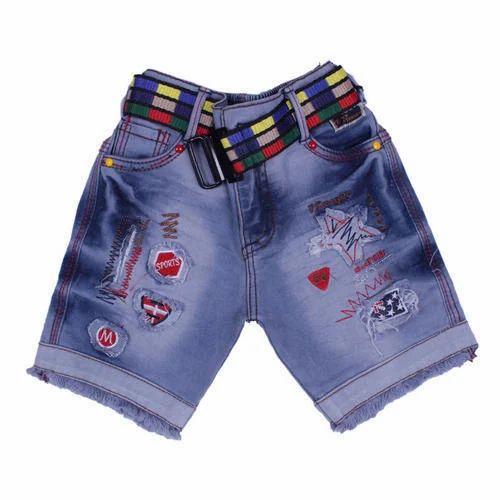 c4d48ec54 Cotton Casual Wear Boys Denim Shorts, Rs 215 /piece, SS Garments ...