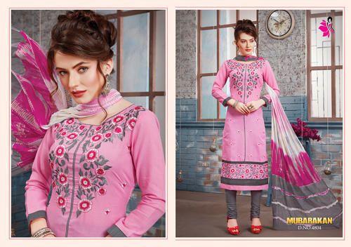 194abb4e21515 Cotton Pink Fancy Churidar Suit, Rs 561 /piece, K. Nandlal Sons   ID ...