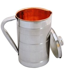 Copper  Steel Jug