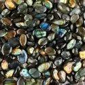 Natural Labradorite Briolite Gemstone in Assortment For Gewelry Making