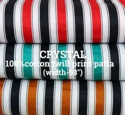 Crystal 100% Cotton Shirting Fabric