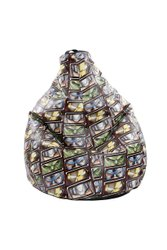 Orka Zing Filled Bean Bag
