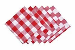 Red Checks Napkin