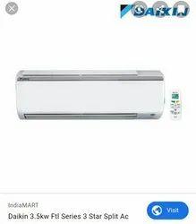 3 Star Split AC Daikin Air Conditioner, Model Name/Number: FTL35, Capacity: 1.0 Tr