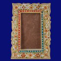 White Marble Photo Frame Inlay Art Home Decorative