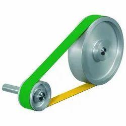 Punched Flat Belt & Slated Flat Belt
