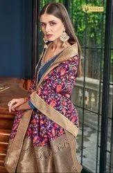 Textile Mall Presents Swagat Violet 6201 To 6214 Series Designer Salwar Kameez Catalog