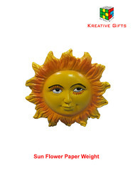 Paper Weight of Sun Shape