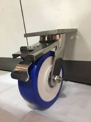 Industrial Ss Fabricated Esd Pu Trolley Wheels