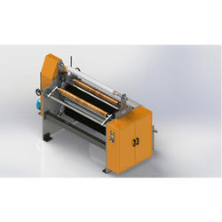 Strech Film Slitting Rewinding Machine