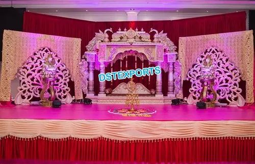 Luxurious Manavarai Stage For Srilankan Wedding At Rs 100 Set