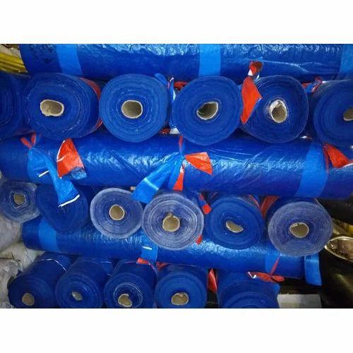 Blue PP Waterproof Tarpaulins