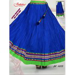 Cotton Traditional Long Skirt