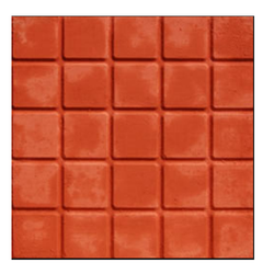 Cad Bury Design PVC Chequered Tile Molds