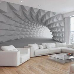 3D PVC Wallpaper