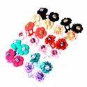 Colorful Tic Tac Hair Pin